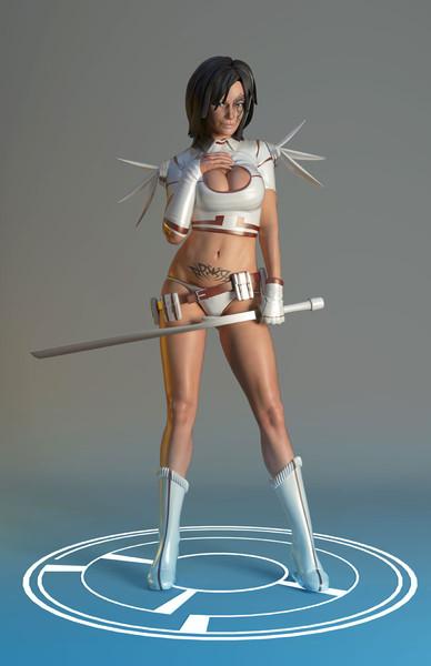 rapariga-3dBlender 3d Art